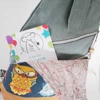 Sling Bag Malea//Crossbag//Rucksack//Unikat//Handmade Bild 7