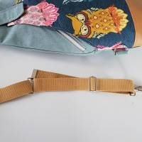 Sling Bag Malea//Crossbag//Rucksack//Unikat//Handmade Bild 9