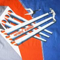lange farbige Bluse mit 3/4 Arm, Russischer Konstruktivismus Bild 8