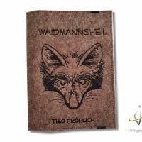 Jagscheinhülle Hülle für den Jagdschein WBK Fuchs Waidmannsheil Bild 1