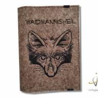 Jagscheinhülle Hülle für den Jagdschein WBK Fuchs Waidmannsheil Bild 2