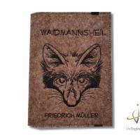 Jagscheinhülle Hülle für den Jagdschein WBK Fuchs Waidmannsheil Bild 3