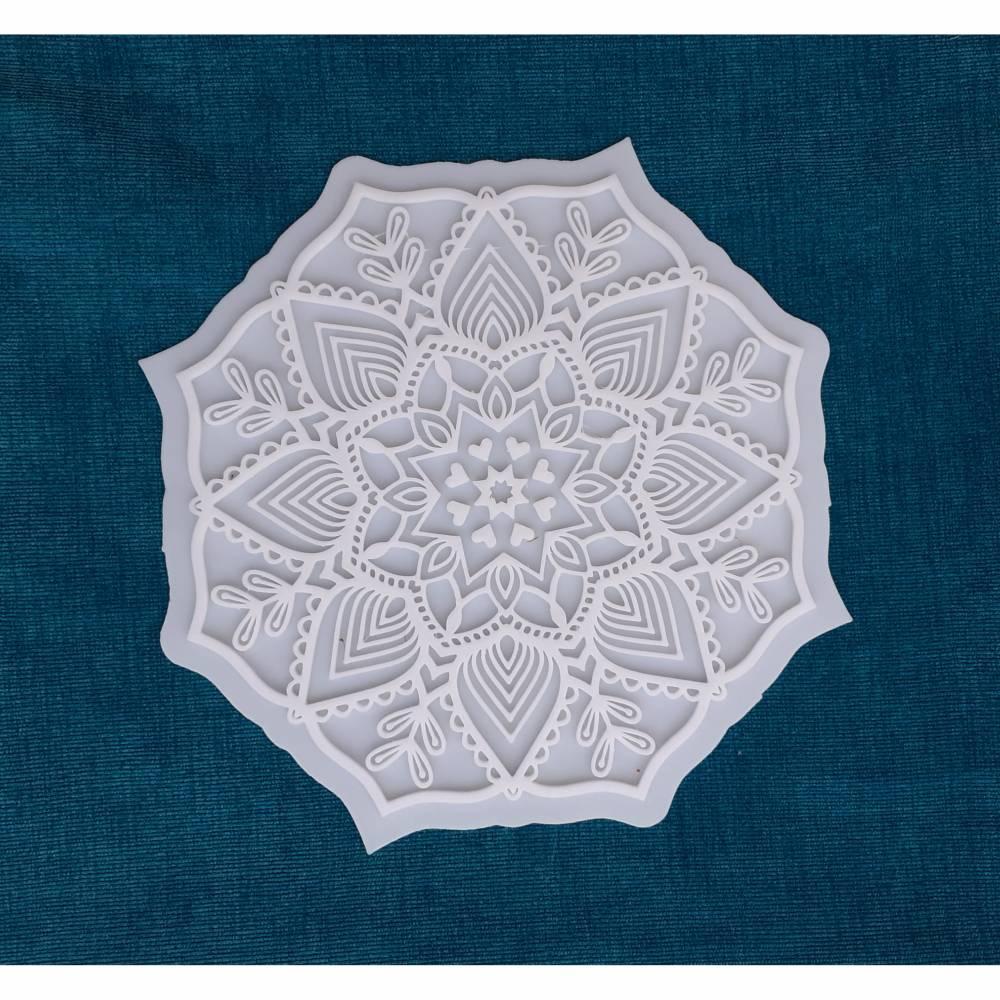 Tonzauber Stempel Mandala 13 Bild 1