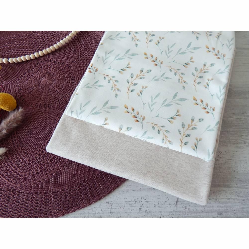Stoffpaket Jersey Weidenzweige / natur meliert 2 x 50cm VB Bild 1