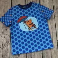 sommerliches T-shirt gr.110/116 Maus Punkte Bild 2