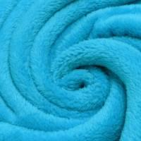 Wellnessfleece - Micro Fleece türkis Bild 1