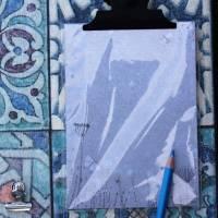 "MemoBoard - ClipBoard - Wanddekoration ""Mosaik"" Bild 3"