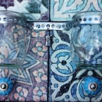 "MemoBoard - ClipBoard - Wanddekoration ""Mosaik"" Bild 4"