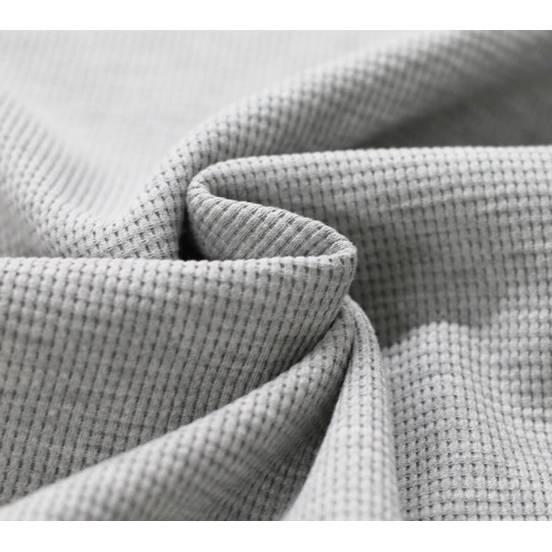 Waffel Strick, Jersey  Baumwollstoff, Extrabreite  150 cm,  Meterware, Stoff, Baumwolle,  Bild 1