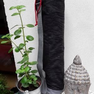 Mattentasche Yoga, Flanell,  geeignet für 60 cm breite Yogamatte Bild 1