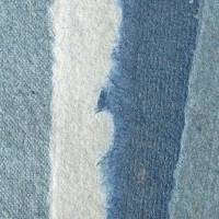 12 Blatt handgeschöpftes Papier, hellblau, ca. 21 cm x 29,5 cm, Künstlerpapier, Schreibpapier, Bastelpapier Bild 2