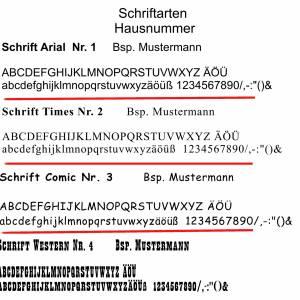 Türschild 20x30cm XXL Namensschild Klingelschild für Ihr Heim Schiefer mit Wunschgravur versch. Modelle Bild 2