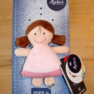 Windeltorte für Mädchen mit Mütze, Spielzeug und Body, Windelschnecke als Babygeschenk zur Geburt Bild 2