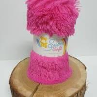Zotteliger Langhaarplüsch pink / fuchsia – 20 mm SuperSoft SHAGGY Bild 1
