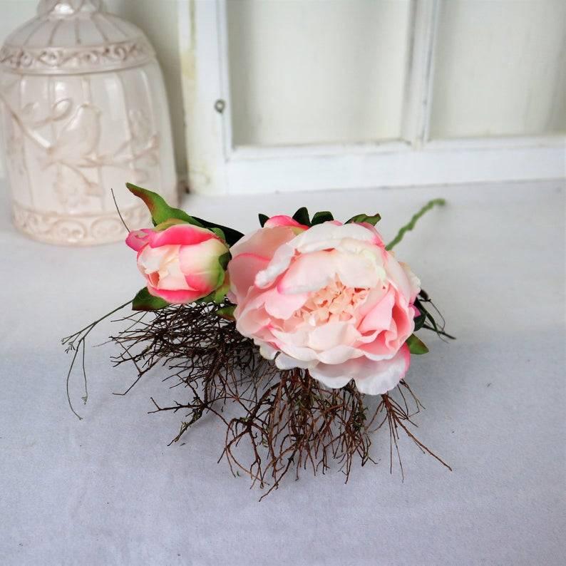 Pfingstrose rosa, Deko Blumen, Floristikbedarf Bild 1