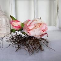 Pfingstrose rosa, Deko Blumen, Floristikbedarf Bild 4