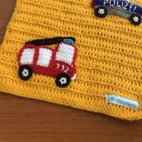 Puppenwagendecke, Spieldecke, Krabbeldecke Rettungsfahrzeuge für kleine Puppenwagen Bild 2