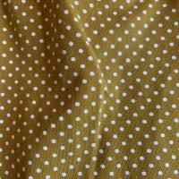 Babyhose / Baggy Pants aus senfgelben Baumwolljersey mit weißen Punkten Bild 5