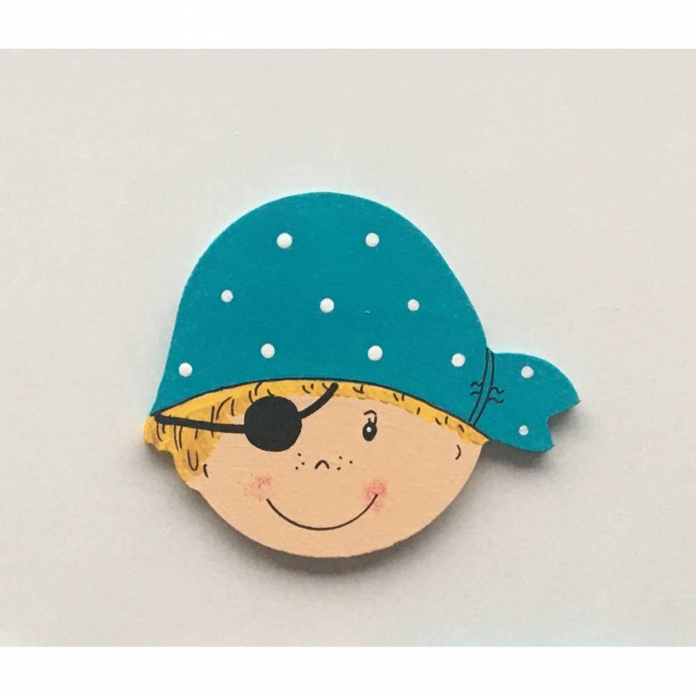 Pirat, passend zu den Buchstaben Bild 1