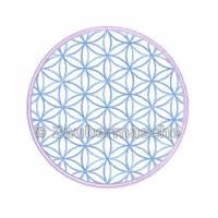 Blume des Lebens rund, Stickdateien für den 10x10-Rahmen Bild 2