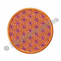 Blume des Lebens rund, Stickdateien für den 10x10-Rahmen Bild 4