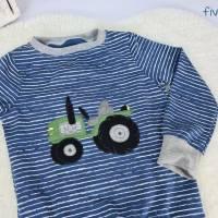 Langarmshirt Pulli Pullover Traktor Bild 3