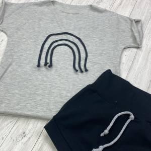 Sommerset 104-110 T-Shirt und Hose Jogginganzug Kinderset  Pumphose Pullover Bild 2