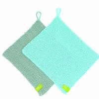 Spültücher, Spüllappen gehäkelt 100%Baumwolle, Wunschfarbe  Bild 4