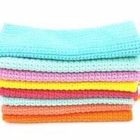 Spültücher, Spüllappen gehäkelt 100%Baumwolle, Wunschfarbe  Bild 7