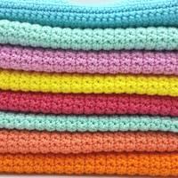 Spültücher, Spüllappen gehäkelt 100%Baumwolle, Wunschfarbe  Bild 9