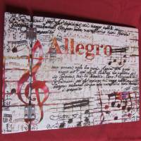 Musik-Notenbuch Bild 3