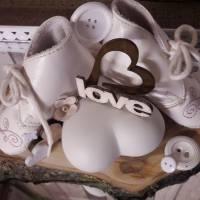 Tischdeko Baby Geschenk HANDMADE UNIKAT Bild 3