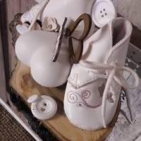 Tischdeko Baby Geschenk HANDMADE UNIKAT Bild 8