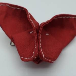 Haarklemme Schmetterling Origami, gefaltet Bild 1