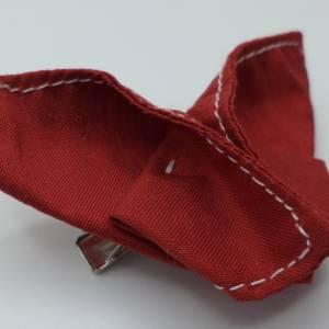 Haarklemme Schmetterling Origami, gefaltet Bild 2