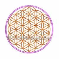 Blume des Lebens 6 Eck, Stickdateien für den 10x10-Rahmen Bild 2