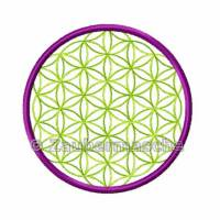 Blume des Lebens 6 Eck, Stickdateien für den 10x10-Rahmen Bild 3