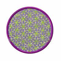 Blume des Lebens 6 Eck, Stickdateien für den 10x10-Rahmen Bild 4