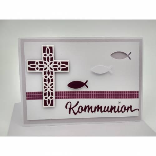 Kommunionkarte mit Umschlag Karte zur Kommunion