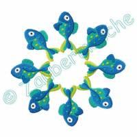 Ichthys Stickdatei Serie für den 13x18-Rahmen Bild 10
