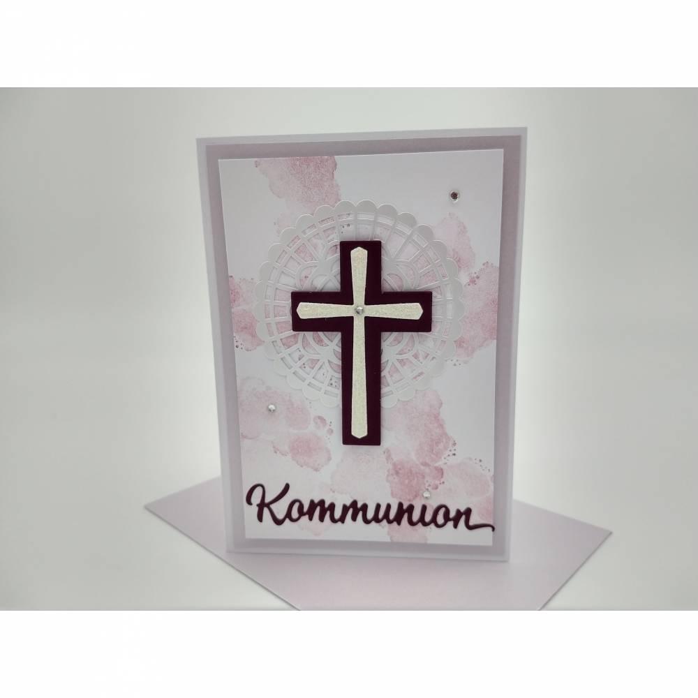 Kommunionkarte mit Umschlag Karte zur Kommunion  Bild 1