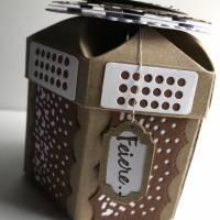 Sensationelle Box 'Pfaffenhütchen' als Geschenkschachtel für Schockies, Geldgeschenk, Geburtstag, Abitur Bild 3