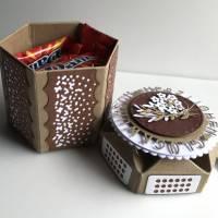 Sensationelle Box 'Pfaffenhütchen' als Geschenkschachtel für Schockies, Geldgeschenk, Geburtstag, Abitur Bild 5