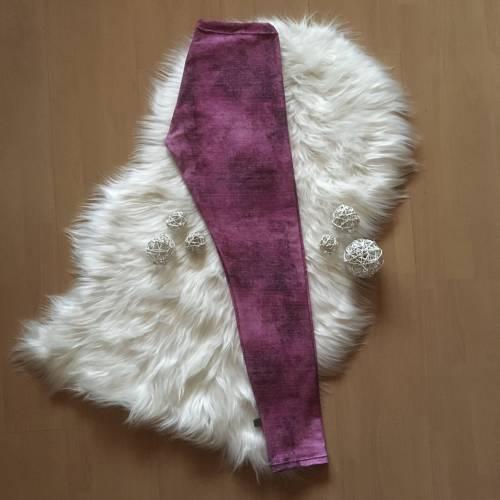 Damenlegging * Gr.38 * Jeansoptik in lila