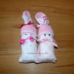 Windelbabys für Mädchen, Zugabe zu Geldgeschenk für ein neugeborenes Baby Bild 9