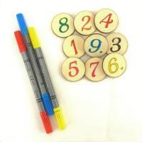 Eselspiel 121 Teile - Holz + Stoffbeutel - Handarbeit 2-6 Spieler Familienspiel Bild 4