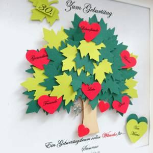Geschenk zum Geburtstag,30.Geburtstag,40.Geburtstag,50.Geburtstag,60.Geburtstag,70.Geburtstag,Lebensbaum,Bilderrahmen Bild 2