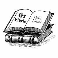 Exlibris Stempel - Ex Libris Stempel Bücher - Exlibrisstempel Buchmotiv No.exl-10245 Bild 2