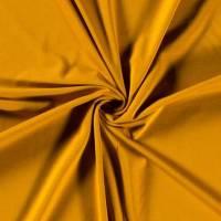 9,90€/m Uni Jersey einfarbig ocker Bild 1