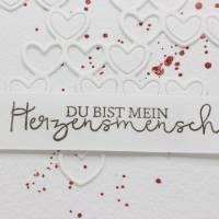 Liebeskarte, Karte zum Valentinstag, Grußkarte für deinen Herzensmensch Bild 3